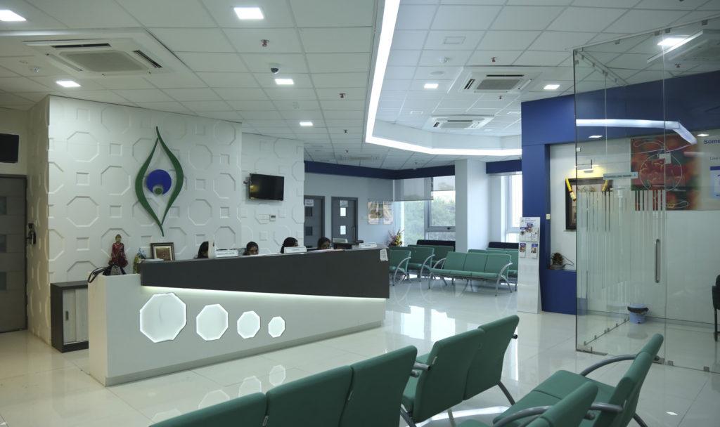 Waiting Room - Shree Ramakrishna Netralaya – Thane
