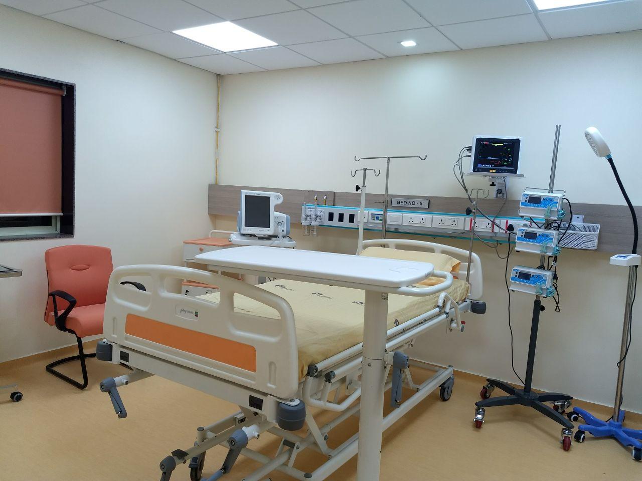 Isolation Room - District Hospital - Pithoragarh, Uttarakhand