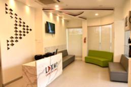 Laxmi Eye Institute - Kharghar - Reception and Waiting Area